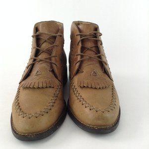 Ariat Lace Up Kiltie Roper Ankle Boots